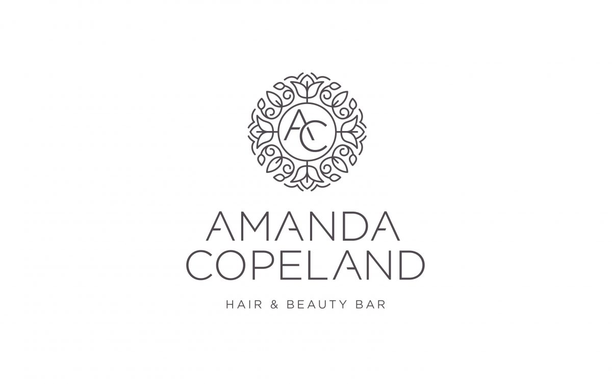Hair and beauty company logo